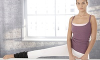 GROUPON: 62% Off One Month of Barre Fitness Classes Hot Yoga at the Edge