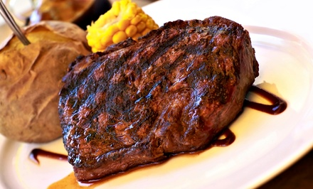 Steak-House Meal with Appetizers and Entrees for Two or Four at Little Dave's Roadhouse (Up to 50% Off)