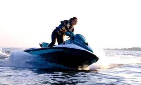 Ruta en moto acuática de 30 o 60 minutos para 1 o 2 personas desde 59 € con salida desde la Marina Real del Puerto
