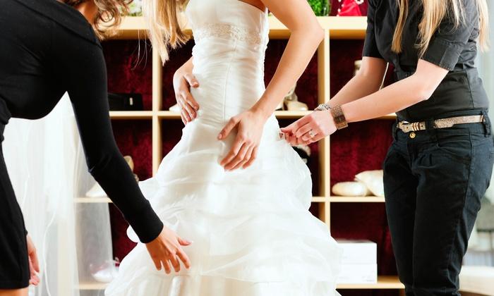 Fit Your World Bridal - Bramalea: $200 or $300 Toward Any Wedding Gown at Fit Your World Bridal (Up to 54% Off)