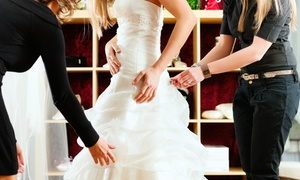Fit Your World Bridal: C$200 or C$300 Toward Any Wedding Gown at Fit Your World Bridal (Up to 54% Off)