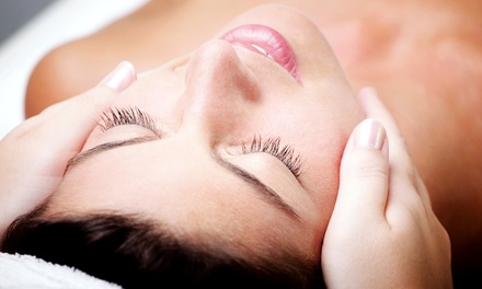 Facial with Optional Peel or Scalp, Hand, and Foot Treatment at Fusion The Salon and MediSpa (Up to 51% Off)