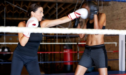 Four or Eight Adult Boxing Classes at Gladiators Boxing and Barbells (Up to 53% Off)