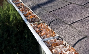A Plus Gutter Cleaning: Cleaning for a One- or Two-Story Home Up to 2,000 or 3,200 Sq. Ft. from A Plus Gutter Cleaning (Up to 48% Off)
