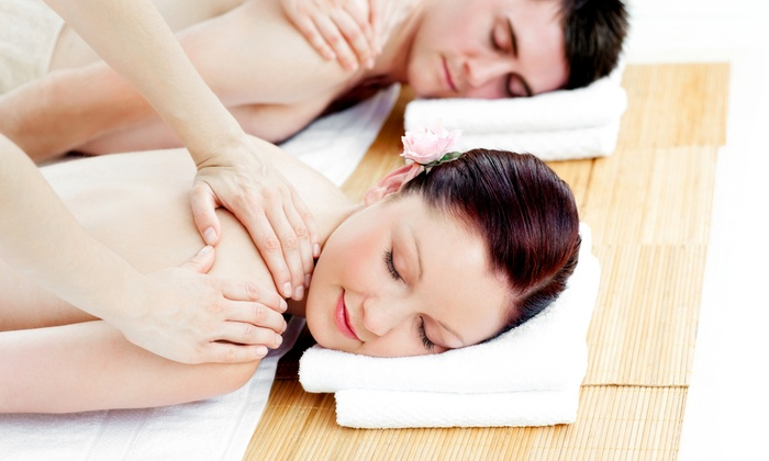 A Healing Touch Massage Therapy/Spa LLC - A Healing Garden: $104 for Valentine's Day Couples Swedish Massage at A Healing Touch Massage Therapy/Spa LLC ($206 Value)