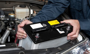 Dial-A-Battery: 30% Discount on Total Bill for Car Battery Replacement Including Battery from Dial-A-Battery