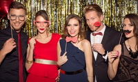 Two- or Three-Hour Photobooth Hire with Props and Prints from Memories & Giggles (Up to 62% Off)