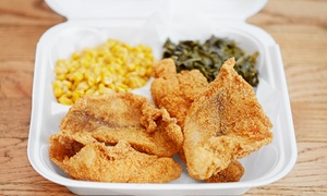 Henderson's Soul Food: Southern Cuisine for Two or Four at Henderson's Soul Food (Up to 40% Off)