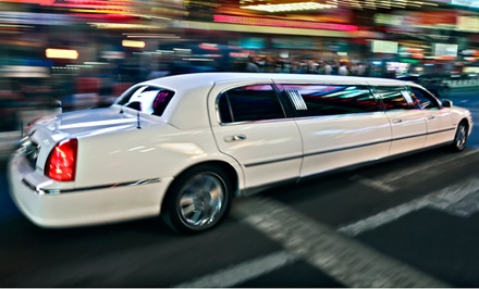 $265 for Eight-Hour Limo Ride for Up to Eight from Caspian Limousine Service ($750 Value)