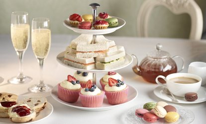 image for Afternoon Tea with Optional Prosecco and Spa Access at Holiday Inn Swindon (49% Off)