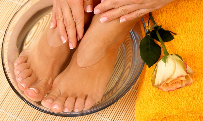 Prema Day Spa - Richardson: $35 for a Shellac Manicure and 30-Minute Simple Pedicure at Prema Day Spa ($75 Value)