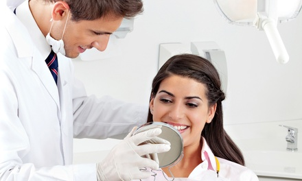 Dental Exam Package, Custom Teeth-Whitening Kit, or Denture Package at Park Blvd Dental (Up to 95% Off)