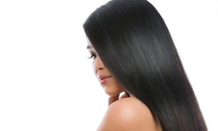 Haircut, Shampoo & Blow-Dry, or Brazilian Straightening Treatment at Hair and Makeup by Juliet (Up to 60% Off)
