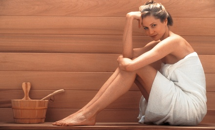One or Three 30-Minute Infrared Sauna Sessions or 4-Week Weight Loss Program with Sauna Sessions (Up to 79% Off)