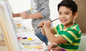 Unicoi Art Studio: Drop-In Kids' Art Class for Ages 18 Months and Up at Unicoi Art Studio (Up to 55% Off). Four Options Available.