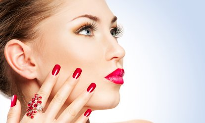 image for Shellac Manicure, Pedicure or Both at ELLE'gance Essensuals Toniguy (Up to 62% Off)