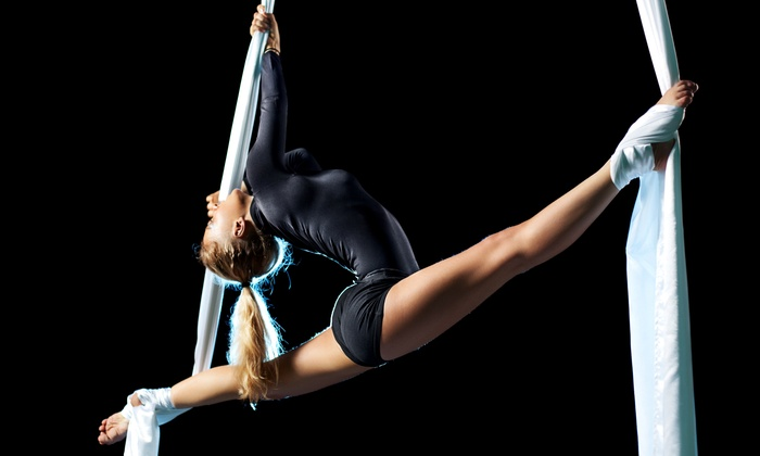 Aerial Arts Santa Cruz - Westside: 3, 5, or 10 Aerial or Pole Conditioning Classes at Aerial Arts Santa Cruz (Up to 54% Off)