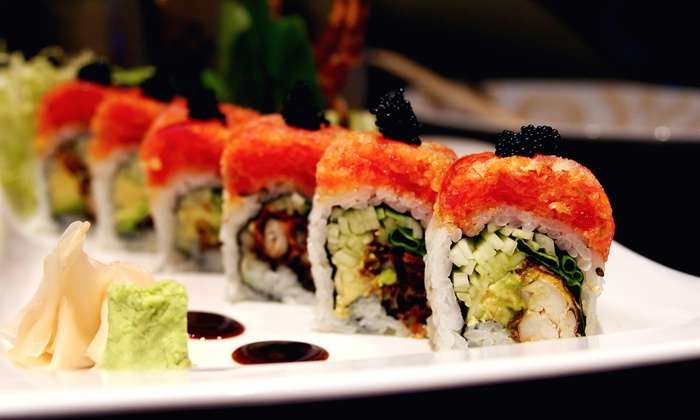Sakana Sushi & Hibachi - Plymouth - Wayzata- Maple Grove- New Hope: Hibachi Fare and Drinks for Two or More, or Sushi in the Dining Area at Sakana Sushi & Hibachi (Up to 47% Off)