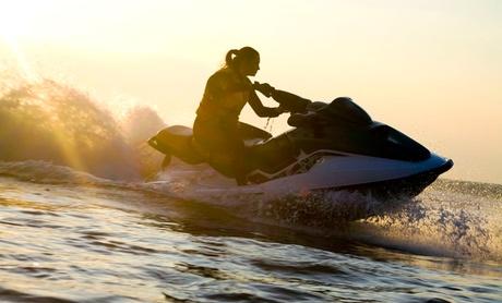 Ruta en moto de agua para una o dos personas desde 49,90 € en el Port Olímpic