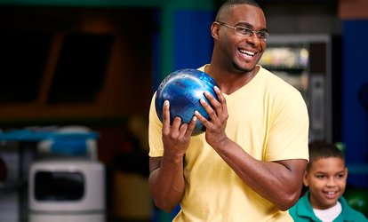 image for Three Hours of Bowling with Shoe Rental for Two, Four, or Six at George Pappas' Liberty Lanes (Up to 52% Off)