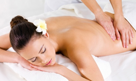 3 massaggi corpo fino a 60 minuti