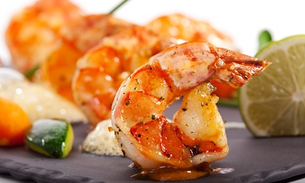 $9 for New Orleans-Inspired Seafood And American Cuisine For Two at Mel's Good Times Cafe ($16 Value)