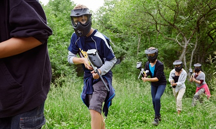 Children's Paintball Party with 100 Balls and Lunch for Up to Ten at Blind Fire Paintball (66% Off)