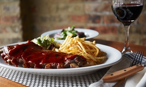DC Backyard Grill: $19.50 for Three Groupons, Each Good for $10 worth of food or drinks at DC Backyard Grill ($30 Value)