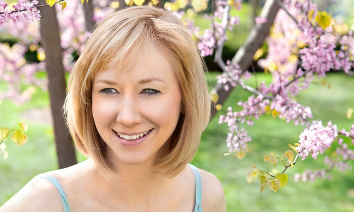 Amy's Salon and Spa - Lombard: $38 for Haircut, Styling, and Deep-Conditioning Treatment at Amy's Salon and Spa ($76 Value)