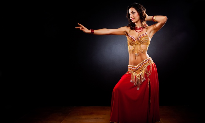 Exotic Belly Dance Show and Dinner - Drom: Exotic Belly Dance Show and Dinner with Belly-Dance Lesson on Friday, January 16, at 6 p.m. or 8:30 p.m. (58% Off)