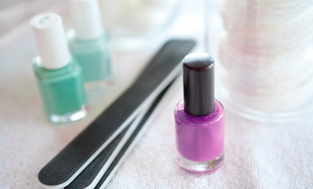 60-Minute Shellac Mani, 60-Minute Spa Pedi, or Both at American Image Salon & Spa ( 34% Off)