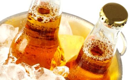 Menú para 2 o 4 con 3 raciones, postre y cubo de 6 cervezas 16,95 € en Cervecería de Curtidores