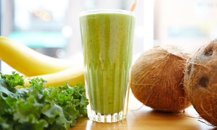 Soul Vegetarian - West End: $17.50 for Five Groupons, Each Good for One Juice, Shake, or Smoothie at Soul Vegetarian ($32.50 Value)
