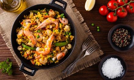 Linguini aux fruits de mer, homard et dessert en semaine ou le weekend pour 2 personnes dès 25,90 € Restaurant Rina
