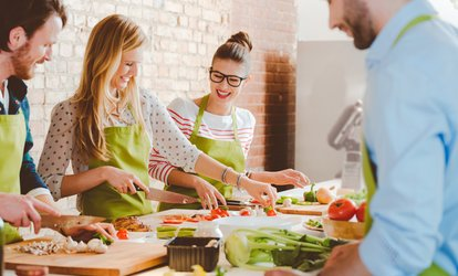 image for <strong>Cooking</strong> Class with Wine for One or Two at Chef Andrew Bennardo's Culinary <strong>Classes</strong> (Up to 53% Off)