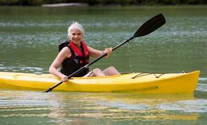 River Run Deli and Kayak Rentals: All-Day Kayak Rental for Two or Four at River Run Deli and Kayak Rentals (50% Off)