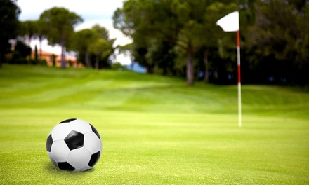18 Holes of Footgolf with Ball Hire and Hot Drink for Two, Four or Six at Tonbridge Golf Centre