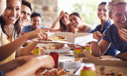 Pizza d'asporto, una o 2 teglie