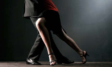 Five or Ten Ballroom or Salsa Dances for One or Two, or a Dance Class Package for One or Two (Up to 88% Off)