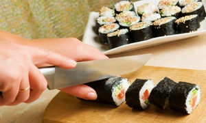 Kai Express: Sushi or a Sushi-Making Class for One, Two, or Four at Kai Express (Up to 67% Off)