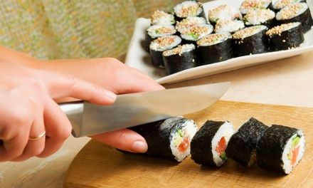 Sushi-Making Class with Food and Drinks for One, Two, or Four at Ninja Hops (Up to 63% Off)