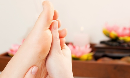 $55 for a Hot-Stone Reflexology Session and Ionic Footbath at Holistic Harmony ($120 Value)
