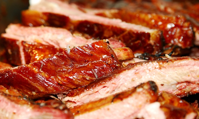 Deuces BBQ - Jordan Park: $9 for $16 Worth of Barbecue and Drinks at Deuces BBQ