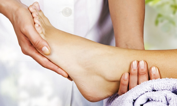 Kentlands Foot and Ankle Center - Gaithersburg: Laser Nail-Fungus Removal or Shockwave Therapy for Heel Pain at Kentlands Foot and Ankle Center (Up to 54% Off)
