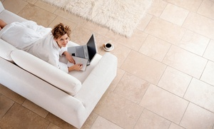Carpet Clinic: $99 for Tile and Grout Cleaning from Carpet Clinic ($250 Value)