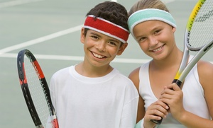 Ojakian Tennis Inc.: One-Week All-Day or Half-Day Kids' Tennis Camp from Ojakian Tennis (Up to 37% Off)