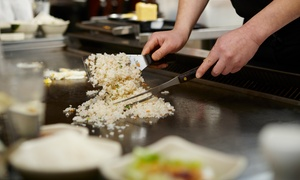Saga Hibachi Steakhouse & Sushi Bar: Japanese Steak-House Cuisine for Dine-In at Saga Hibachi Steakhouse & Sushi Bar (44% Off)