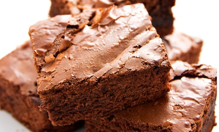 One Dozen Gourmet Cupcakes or 18- or 36-Piece Gourmet Assorted Brownie Tray at Reeves Cake Shop (Up to 50% Off)