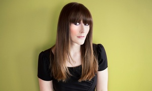 Sol Beauty Salon: Haircut Package with Optional Partial or Full Highlights at Sol Beauty Salon (Up to 65% Off)