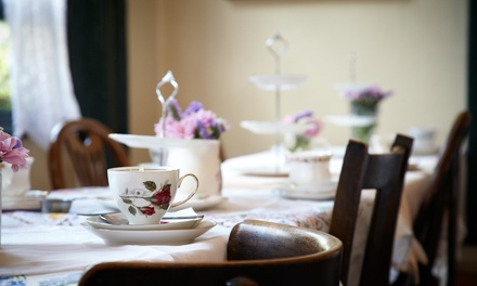 Afternoon Tea for Two or Four at Jacqueline's Tea Room